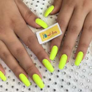 Neon Colors Nail Art