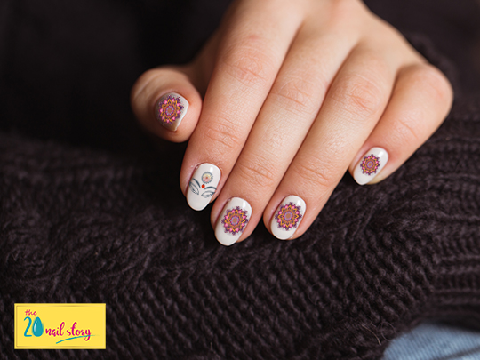 Traditional Nail Art