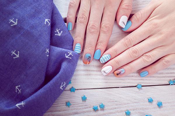 Branded Design Nail Art