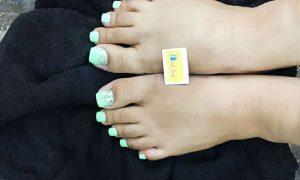 Feet nail design in kolkata